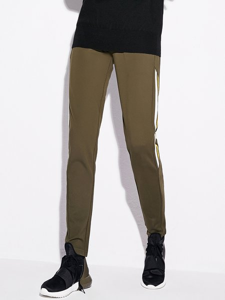 Solid Simple Track Pants