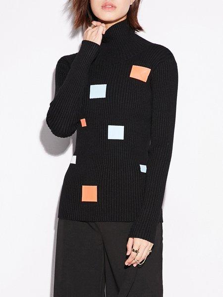 Printed Casual Long Sleeved Top