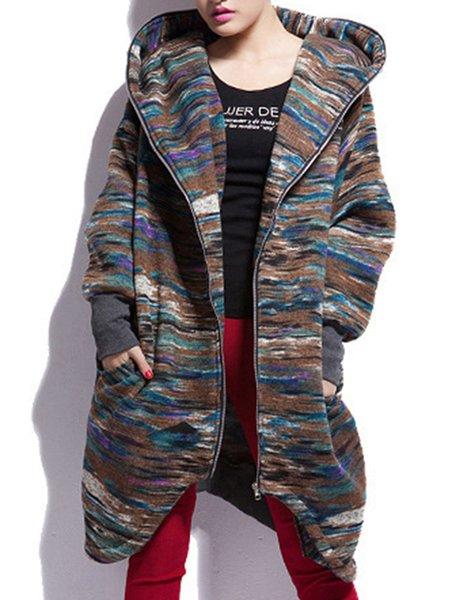 H-line Hoodie Casual Coat