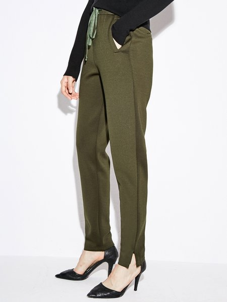 Solid Casual Track Pant