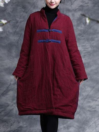 Long Sleeve Casual Linen Outerwear