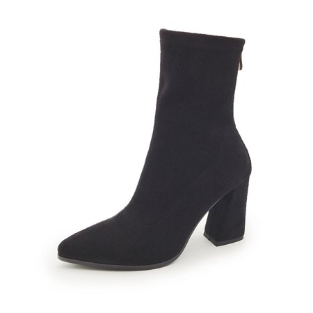 Casual Suede Spring/Fall Boots