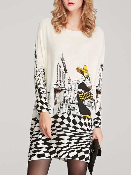 Graphic Printed Sweater