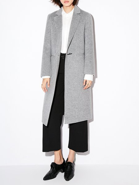 Casual Wool Coat