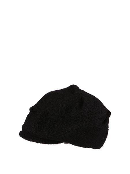 Wool Blend Plain Casual Hat