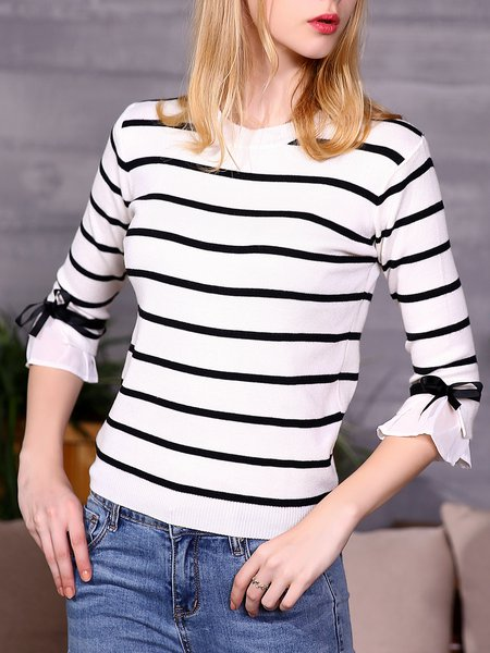 Casual Jersey Half Sleeve Sweater