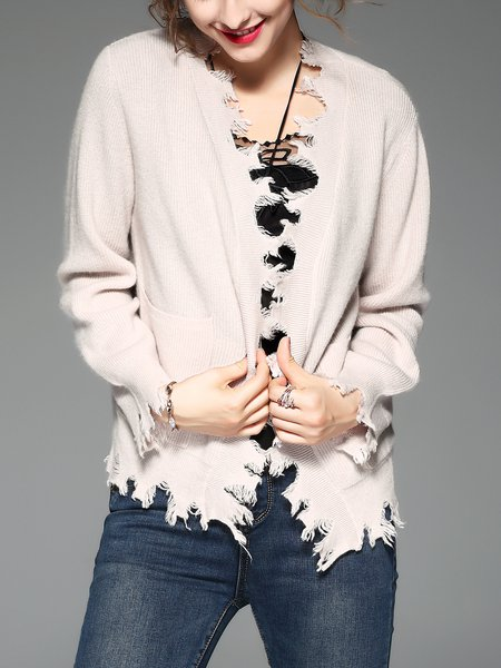 Wool Long Sleeve Casual Sweater