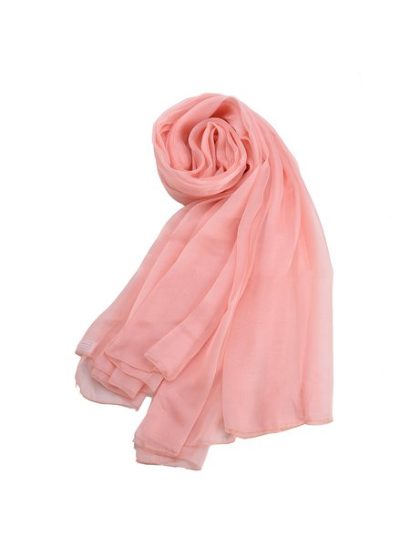 Soft Casual Silk Scarf
