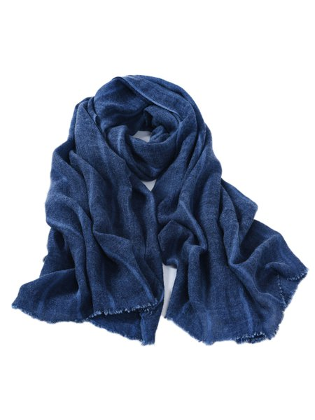 Blue Casual Scarf