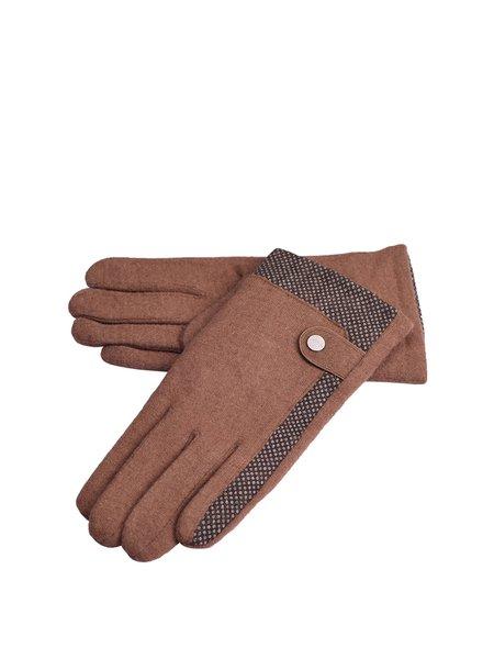 Camel Casual Nylon Gloves