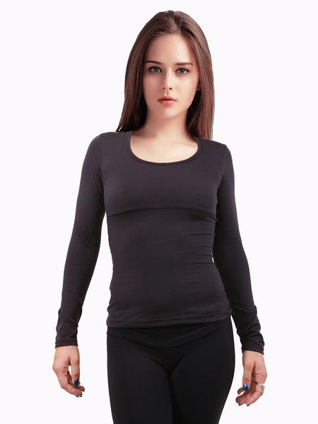 Black Wicking Sports Top T-shirt