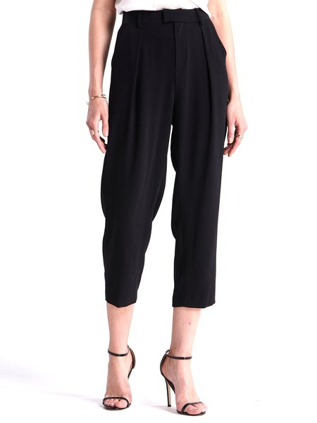 Folds Polyester Casual Track Pants