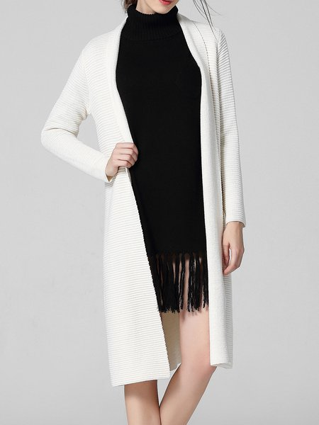 Cashmere Long Sleeve Elegant Knitted Cardigan