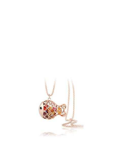 Multicolor Crystal Animal Alloy Necklace