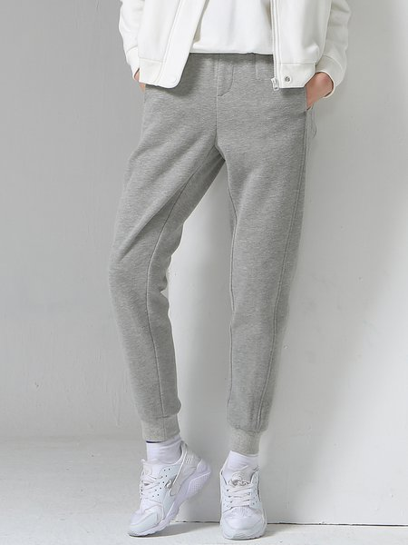 https://www.stylewe.com/product/light-gray-appliqued-casual-cotton-plain-track-pants-82184.html