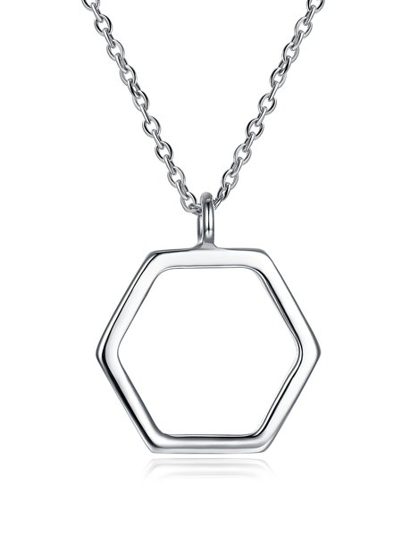Silver-Color Necklace