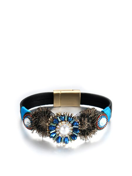 Multicolor Alloy Bracelet