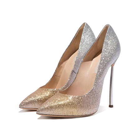 Stiletto Heel Party & Evening Sequin Spring/Fall Heels