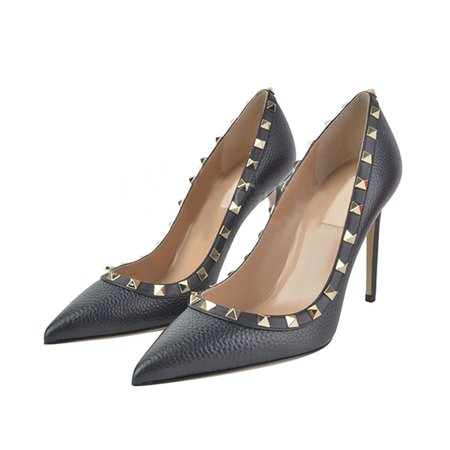 Stiletto Heel PU Rivet Spring/Fall Heels