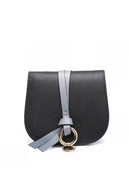 Snap Leather Casual Wallet