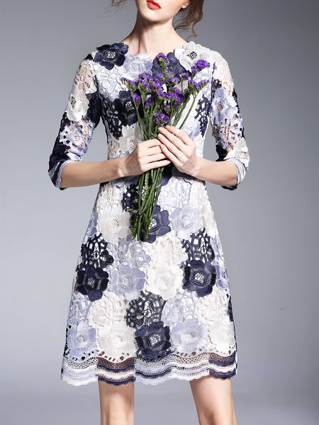 https://www.stylewe.com/product/girly-lace-pierced-3-4-sleeve-floral-midi-dress-73600.html