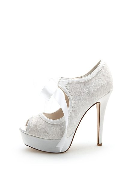 Stiletto Heel Party & Evening Summer Lace Heels