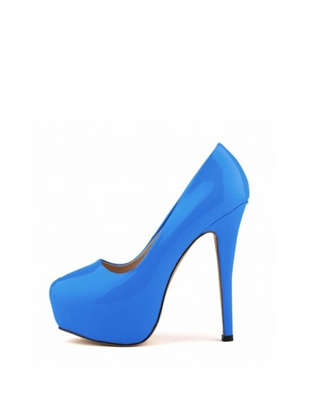 PU Casual Summer Stiletto Heel Heels