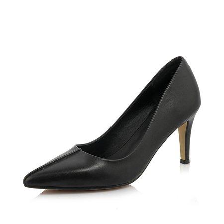 Black Stiletto Heel Heels