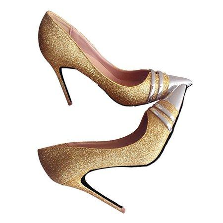 Summer Glitter Stiletto Heel Heels