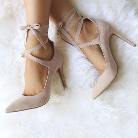 Nude Stiletto Heel Dress Sandals