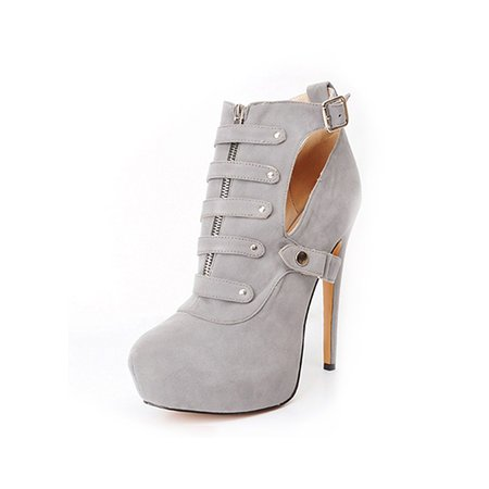 Suede Casual Spring/Fall High Heel Boots
