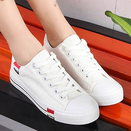 Lace-up Summer Casual Canvas Shoes