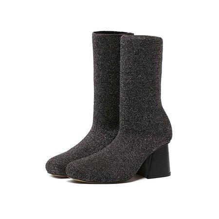 Glitter Winter Boots