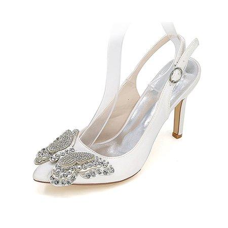 Bukle Fabric Stiletto Heel Spring/Fall Heels