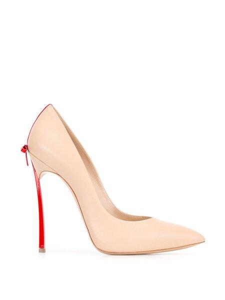 Elegant PU Stiletto Heel Heels