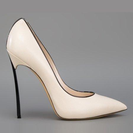 Apricot PU High Heel Heels
