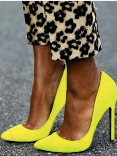 Mustard Summer Sandals
