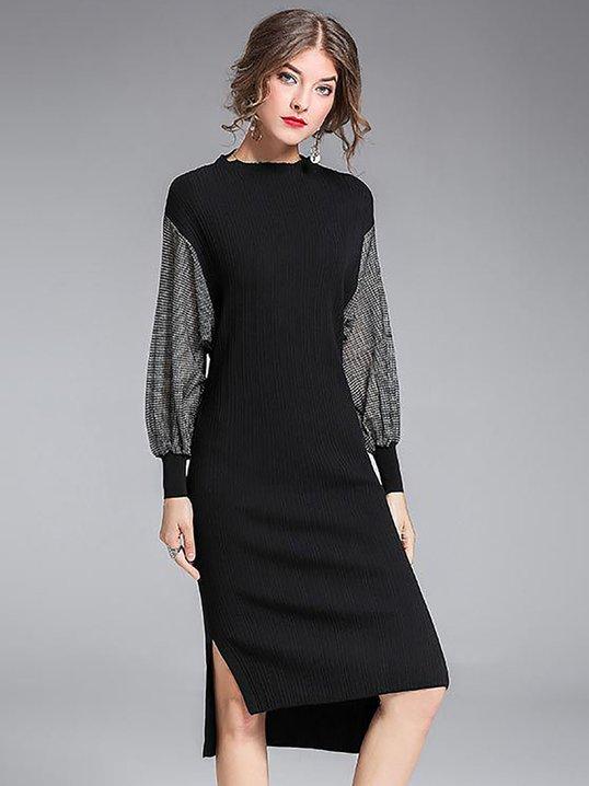 Black Midi Cocktail Dresses
