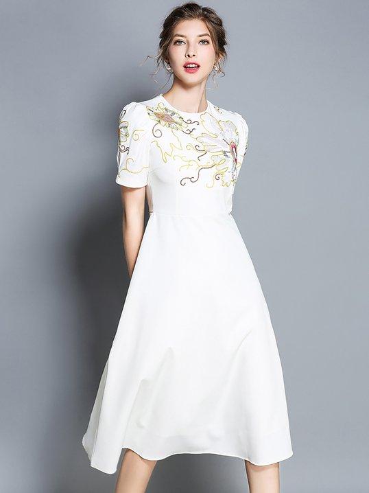 Cocktail Chiffon Dress