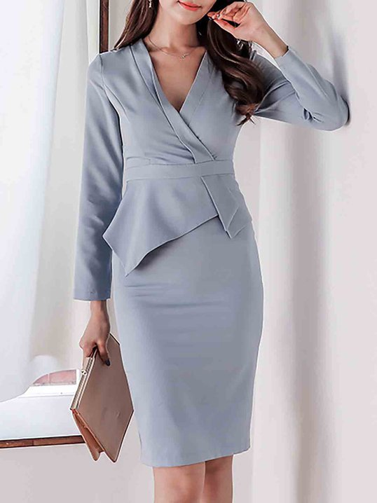 Wrap Dresses for Work