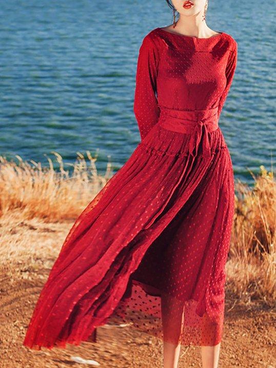 Long Sleeve Vintage Dresses