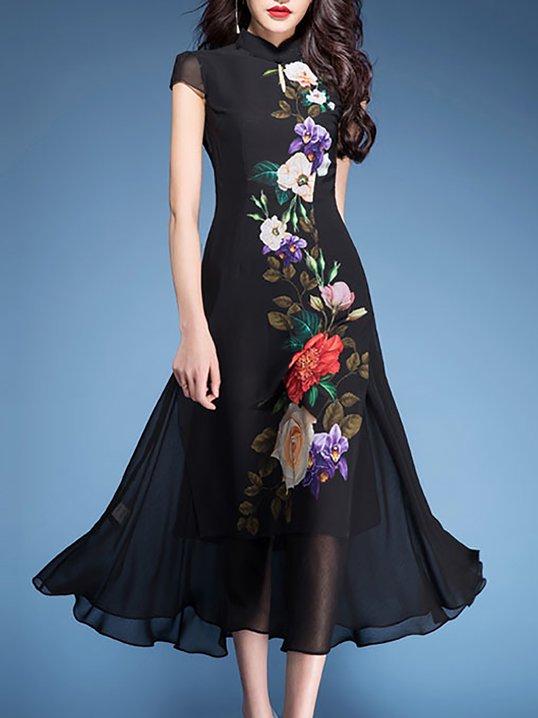 4fb926947d58 LOOK BOOK. 44797. Quick Shop · 23488. Quick Shop · 23488. Quick Shop ·  96215. Quick Shop · TESTSWF Stand Collar Black Paneled Midi Dress