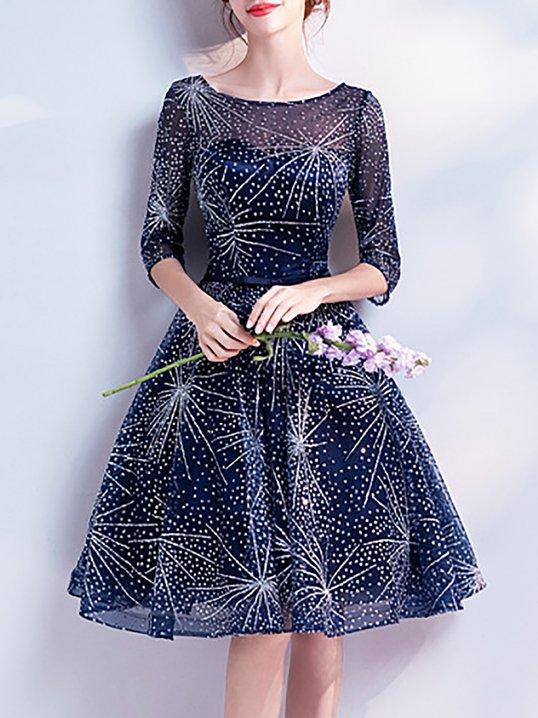 f5263c3eb9 LOOK BOOK. 44797. Quick Shop · 23488. Quick Shop · 23488. Quick Shop ·  96215. Quick Shop · TESTSWF Dark Blue Prom See-Through Evening Mini Dress