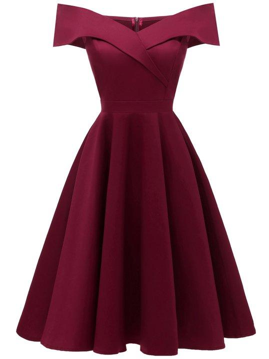 870e4e7945 Stylewe Prom Dresses Formal Dresses Cocktail A-Line Off Shoulder Cape  Sleeve Vintage Dresses