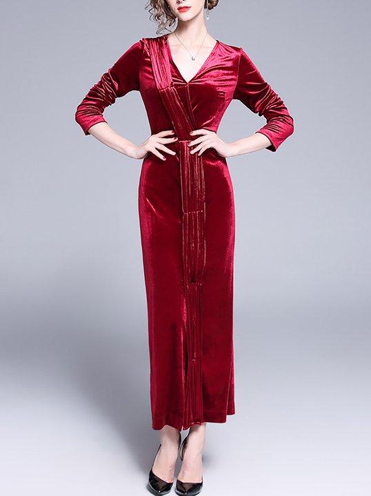 5dfac3c09b Stylewe Prom Dresses Long Sleeve Formal Dresses Date Sheath V Neck Cocktail  Zipper Dresses