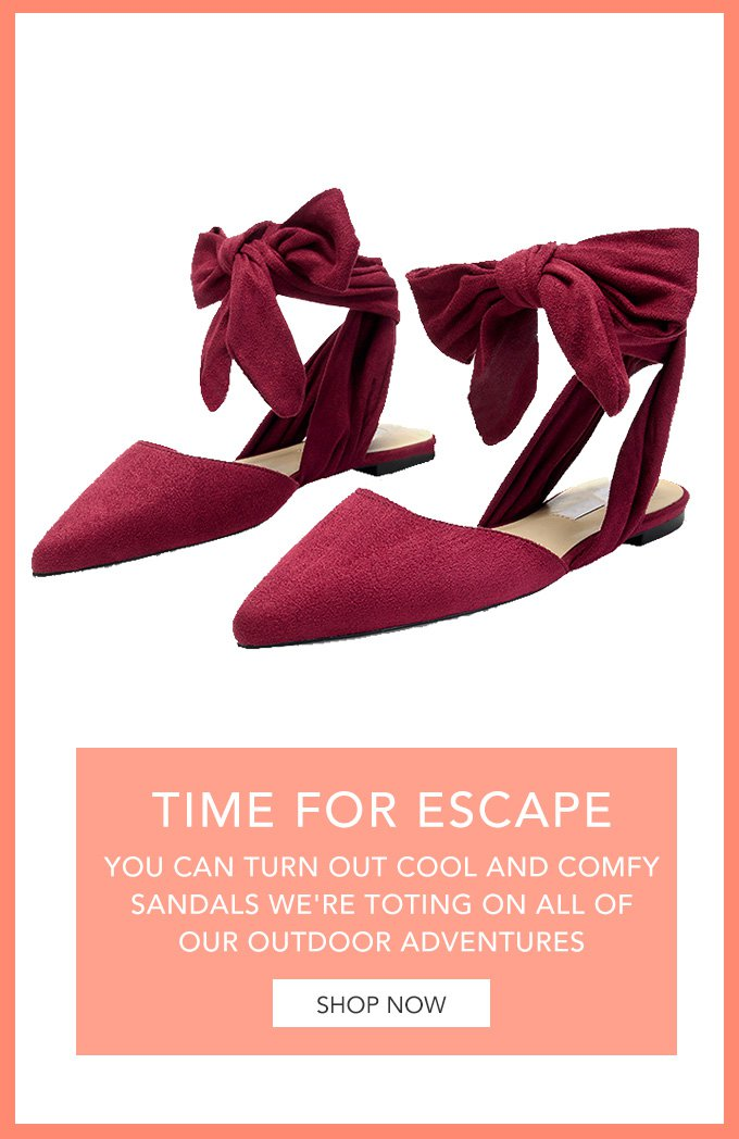 Time For Escape