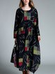Cocoon Cotton Casual Maxi Dress
