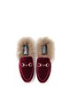 Burgundy Spring/Fall Velvet Slippers