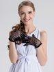 Cotton Girly Lace Paneled Glove