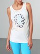 Printed Breathable Sports Tank